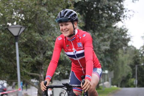 Kathrine Aalerud  på sykkellandslaget 2017