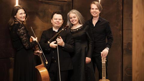 Scania Consort bjuder på vacker barockmusik