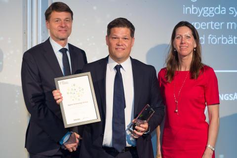 Johan Glennmo receives award for Sigma Technology Group, Sweden's Best Managed Companies