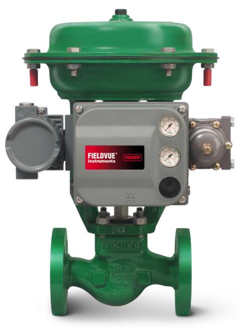 Fisher GX säätöventtiili varustettuna DVC6200 venttiiliohjaimella