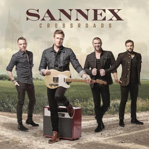 Sannex kommer den 15 maj med Nashvilledoftande albumet Crossroads!