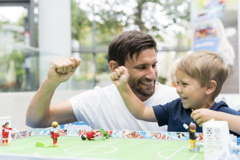 Fußballfieber im PLAYMOBIL-FunPark