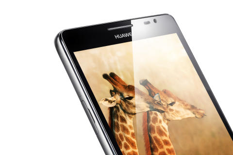 Huawei Ascend Mate - Close