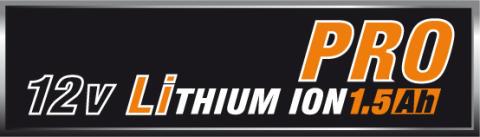 AEG Pro Lithium - logo 12V 1,5Ah