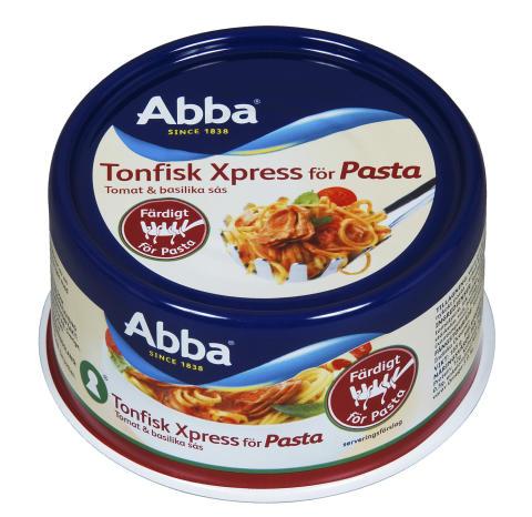Abba Tonfisk Xpress pasta - Tomat & basilika