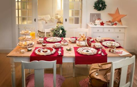 « Des choses qui vous rendent heureux » : une magnifique période de l'Avent et un joyeux Noël avec Villeroy & Boch