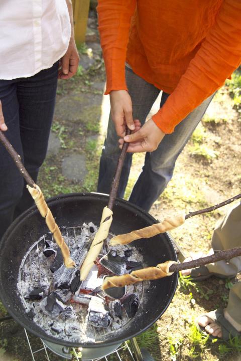 Tikkupullat - paistaminen