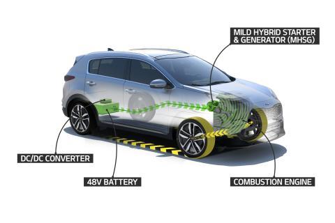 KIA lancerer ny 48 V mild-hybrid diesel drivlinje