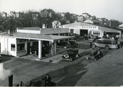 Standard bensinstasjon