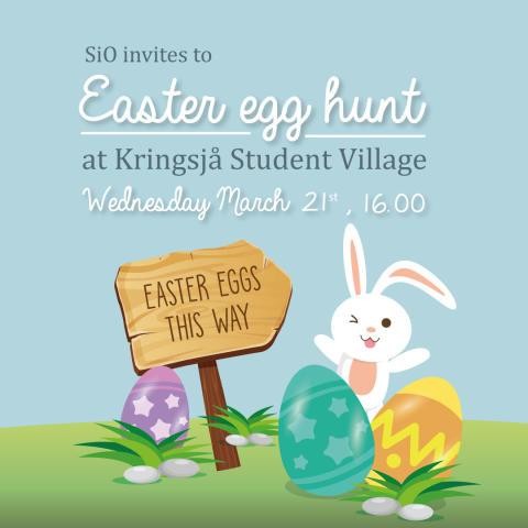 Invitation Easter Egg Hunt