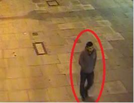 CCTV still of man sought