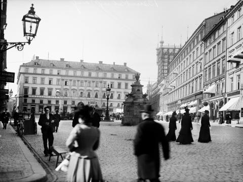 Brunkebergstorg – torget som försvann
