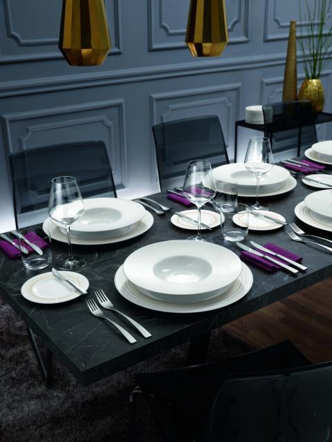 Brillance et ambiance pour la haute gastronomie : avec Stella Vogue, présentation raffinée garantie