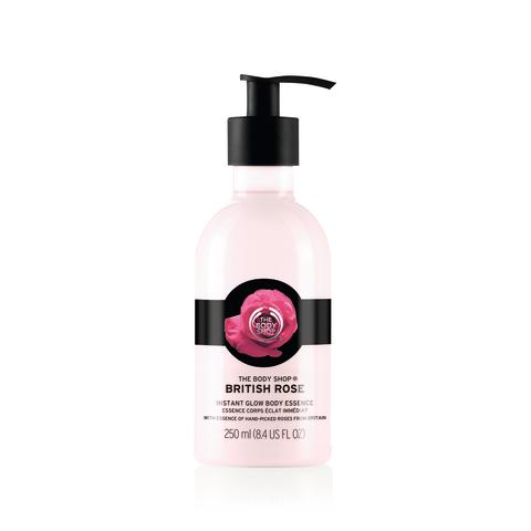 British Rose Instant Glow Body Essence