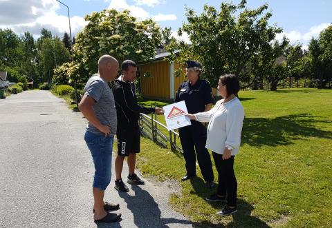 Kumla kommun stödjer nu Grannsamverkan