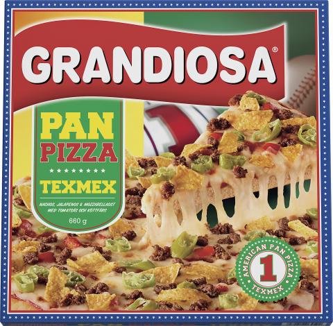 Grandiosa Pan Pizza Classic får mexikanskt sällskap i frysdisken