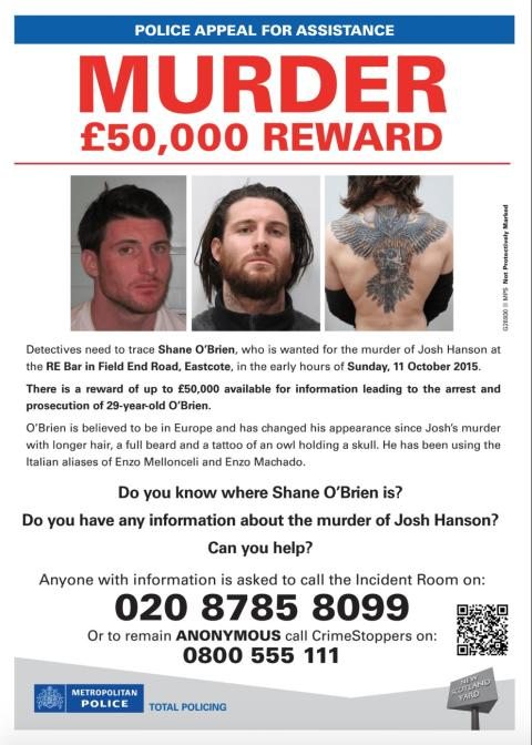 New appeal poster