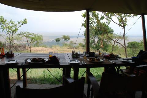 Första safaridagen i Kenya