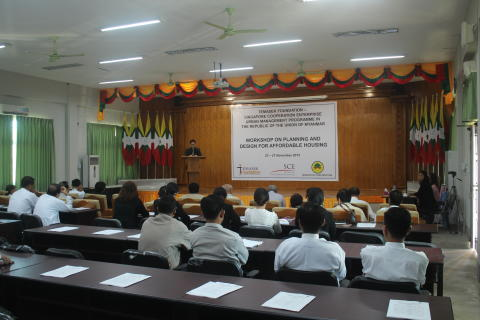 Surbana Jurong conducts 2nd Urban Management Programme for Myanmar's Ministry of Construction in Nay Pyi Taw