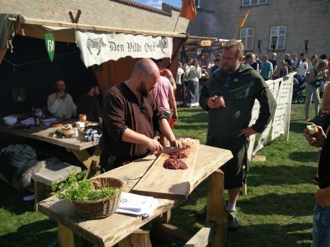 Vi tager vildsvinet med til den Europæiske Middelalderfestival i Horsens