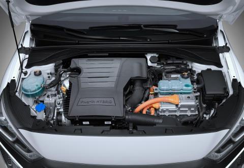 IONIQ Plug-in_Engine