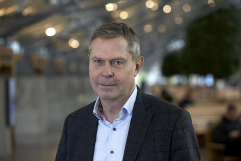 Torvald Svahn, biträdande affärschef tåg
