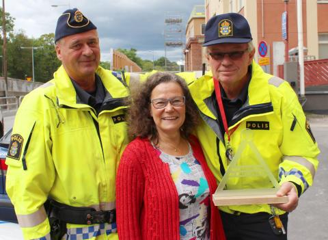 Stockholmspoliser får pris av MHF