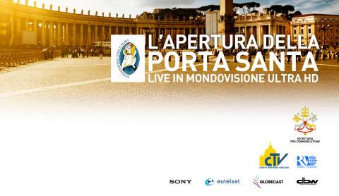 """Conferenza Stampa de """"L'Apertura della Porta Santa in Mondovisione Ultra HD"""""""