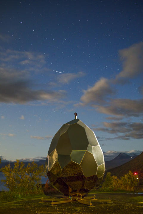 Solar Egg, av Bigert & Bergström för Riksbyggen