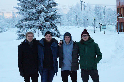 Studenterna bakom Luleå Big Air