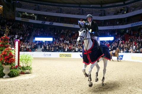 Emma Emanuelsson och Titan i Gothenburg Trophy