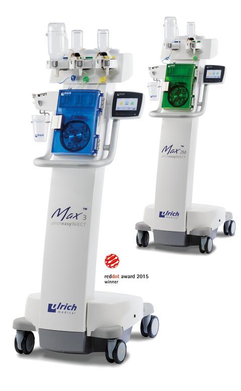 ulrich medical stellt neue MRT-Kontrastmittelinjektoren mit weltweit einzigartiger Technologie vor