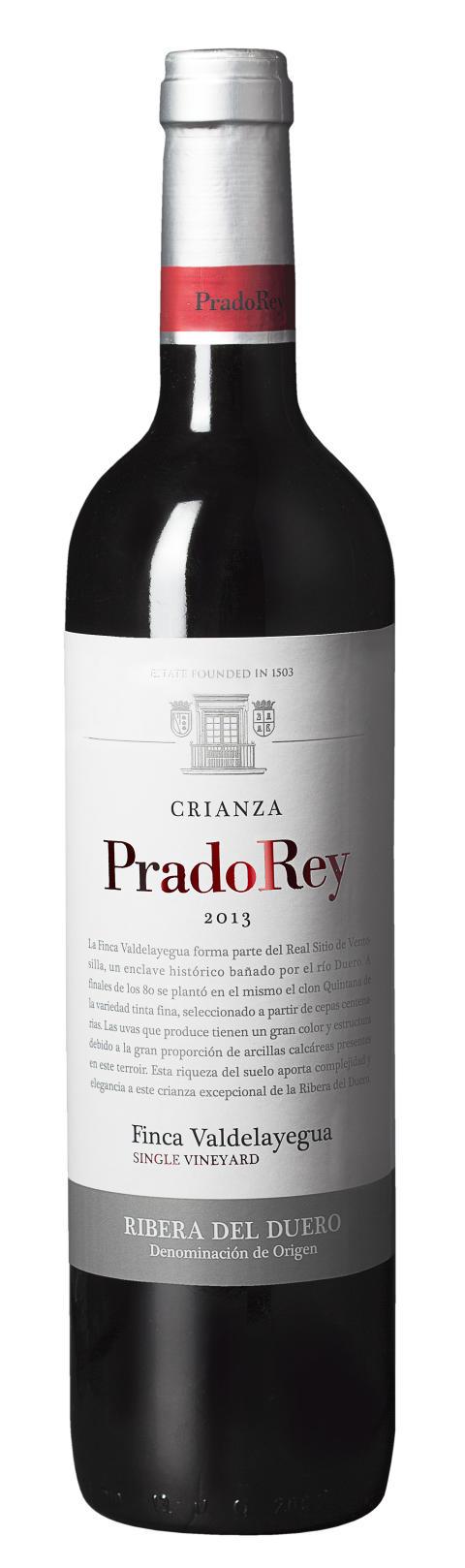 Prado Rey Crianza 2013 –ny årgång & design!