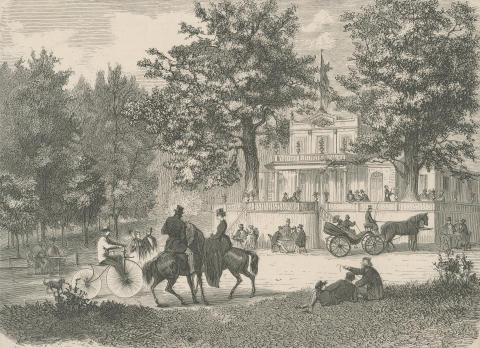 Joggvandring från kunglig trädgård till kungliga Djurgården