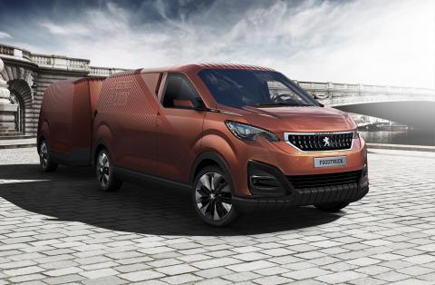 Peugeot Foodtruck - lejonet lanserar en fransk bistro