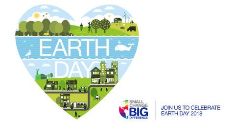 Vi gjør en innsats for jordkloden og feirer Earth Day 2018