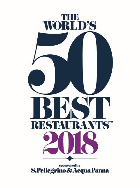Dekton® by Cosentino, officiell bänkskivepartner till  The World's 50 Best Restaurants 2018