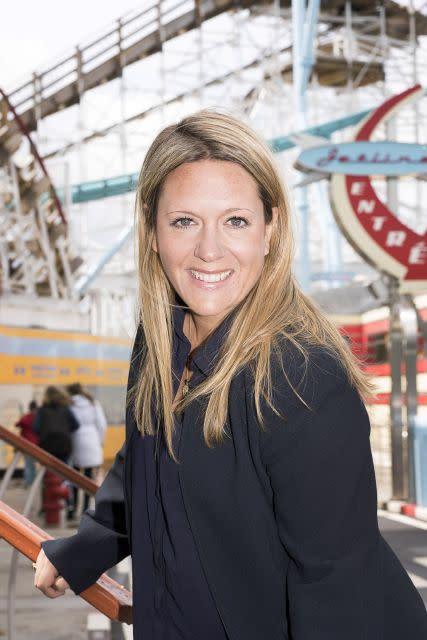 Joanna Hammar, marknadschef Gröna Lund och Parks & Resorts
