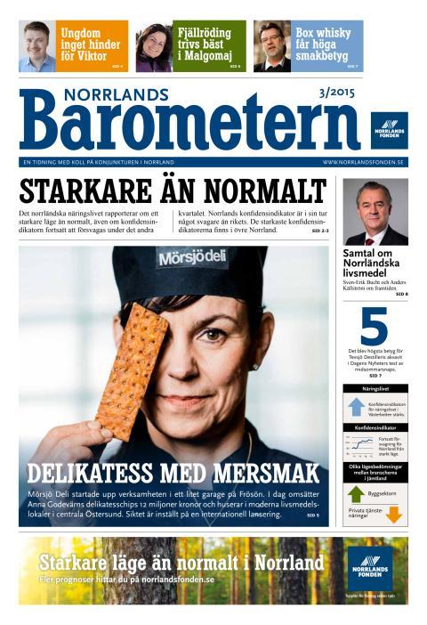 Norrlandsbarometern 3/2015