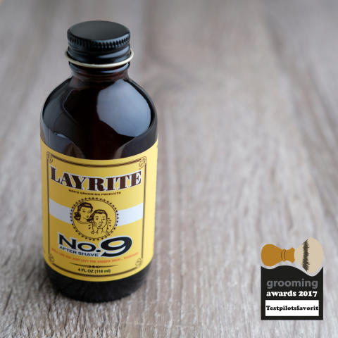 Grooming Awards 2017 - Testpilotsfavorit, Layrite Bay Rum After Shave