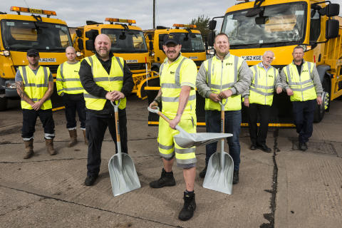 Bury Council tackles winter weather head-on to keep residents safe