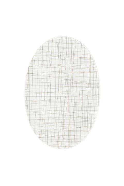 R_Mesh_Line Walnut_Platter 30 cm