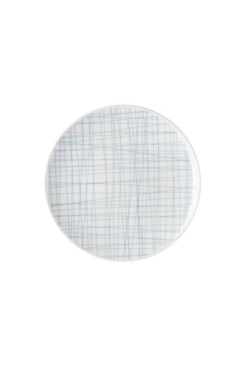 R_Mesh_Line Aqua_Plate 17 cm flat