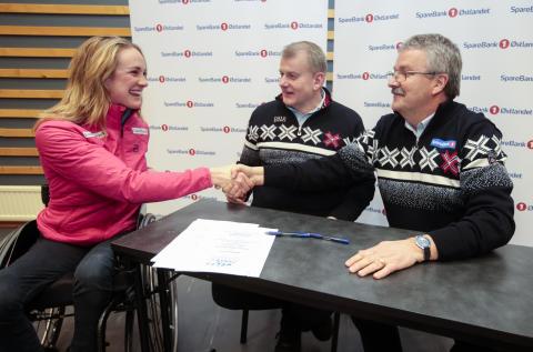SpareBank 1 fornyer hovedsponsoravtalen med langrennslandslaget