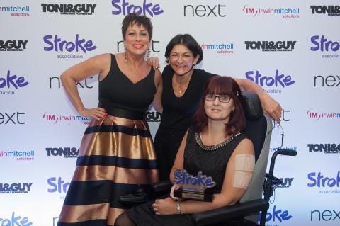 Leicester stroke survivor triumphs over tragedy and wins national award