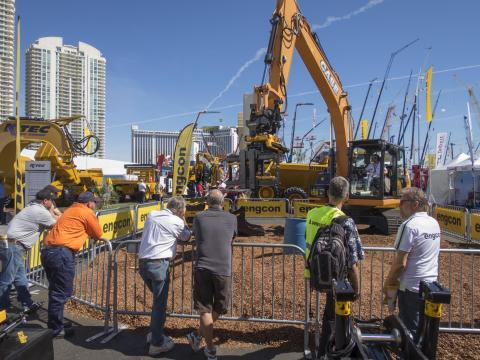 Succé för Engcon på Conexpo i Las Vegas