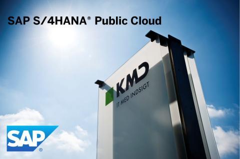 SAP och KMD hjälper nordiska företag med affärssystem i molnet
