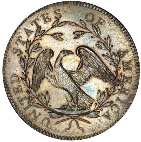 Världens dyraste mynt - The Flowing hair silver dollar från 1794