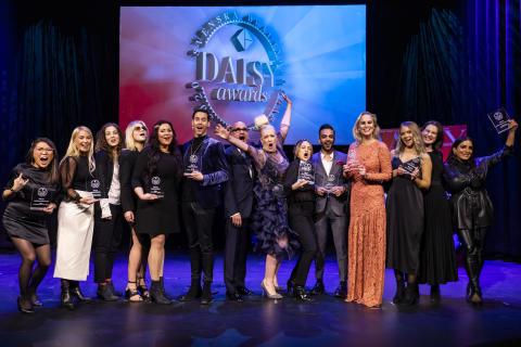 Stor bredd bland vinnarna på Daisy Beauty Awards, Sveriges hjärtligaste skönhetsgala