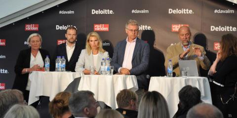 Ekonomer i Almedalen: Staten borde nyttja låg ränta för lån till nya investeringar